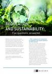 Regulation and Sustainability: 5 questions, answered